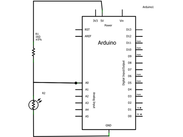 Arduino Light Sensor Circuit Tutorial