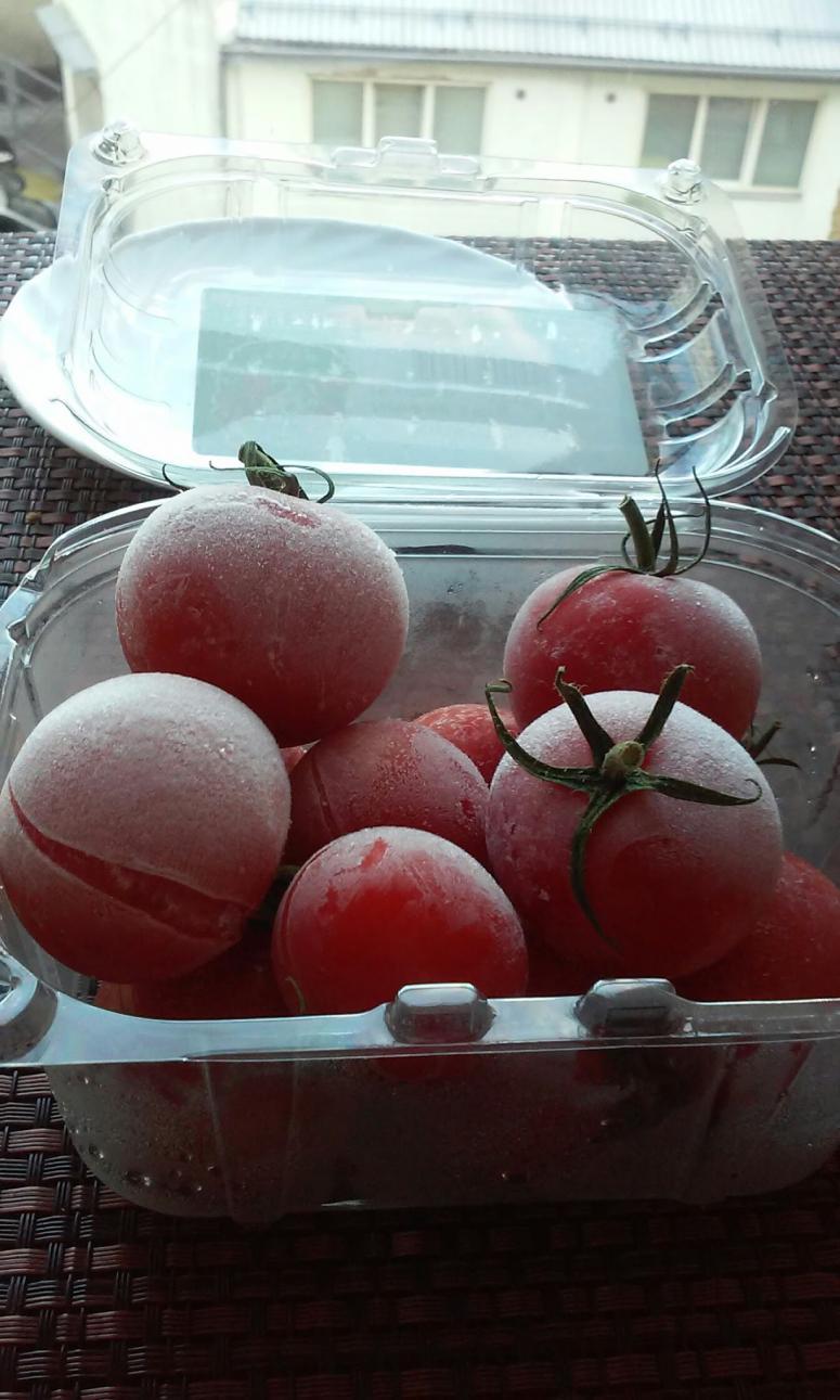 Frozen Cherry Tomatoes