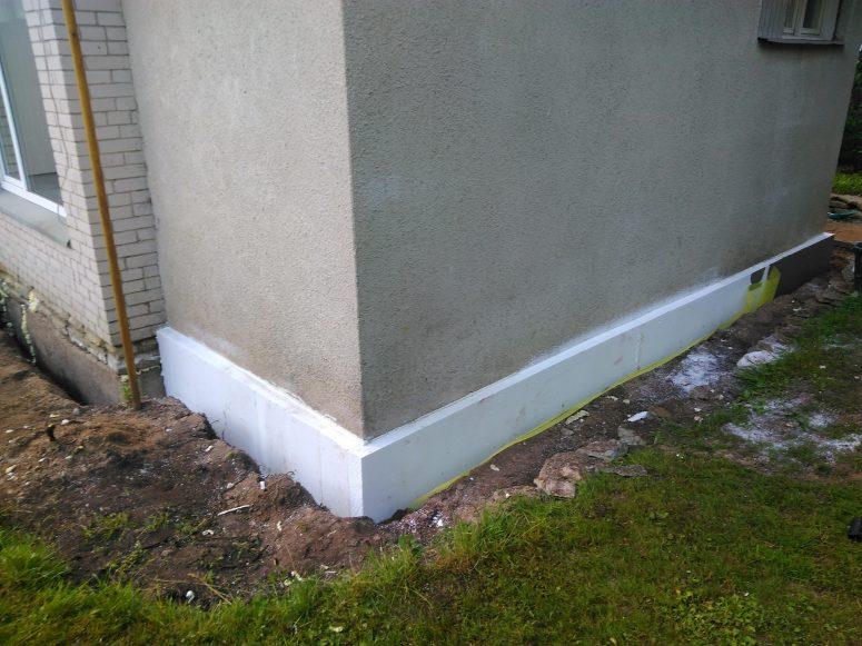 plinth insulation EPS-120 board